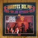 Discos de vinilo: VELVET UNDERGROUND - GIGANTES DEL POP VOL. 5 - LP - VINILO - MÚSICA. Lote 63135440