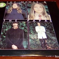 Discos de vinilo: THE MAMAS & THE PAPAS - TWO RECORDS - GREATEST HITS - 2.LPS - USA.. Lote 63136240
