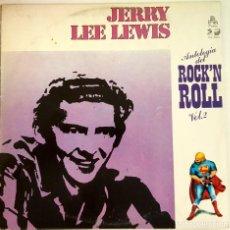 Discos de vinilo: ? LP VINILO JERRY LEE LEWIS ANTOLOGIA DEL ROCK`N ROLL (SPAIN 1978) 33 RPM ?. Lote 63138400