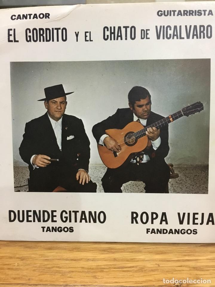 EL GORDITO Y EL CHATO DE VICALVARO-1978-MUY RARO-NUEVO (Música - Discos - Singles Vinilo - Flamenco, Canción española y Cuplé)