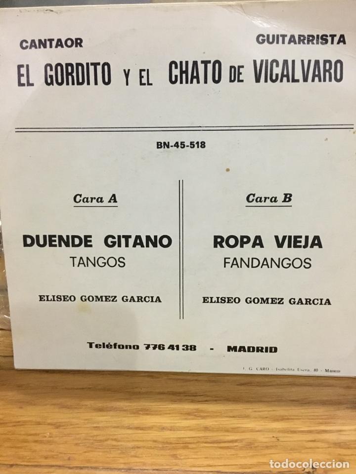 Discos de vinilo: EL GORDITO Y EL CHATO DE VICALVARO-1978-MUY RARO-NUEVO - Foto 2 - 63143763