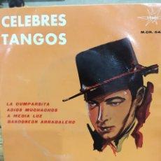 Discos de vinilo: CELEBRES TANGOS-EP-1964. Lote 63144004