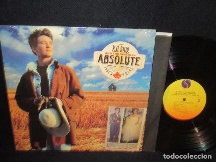 K.D. LANG AND THE RECLINE - ABSOLUTE TORCH TWANG 89, COMPLETA 1ª EDIC ORG USA + ENCARTE, IMPECABLE (Música - Discos - LP Vinilo - Country y Folk)