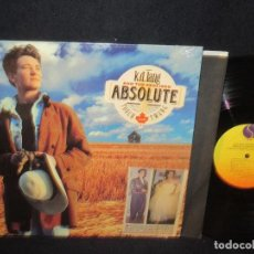 Discos de vinilo: K.D. LANG AND THE RECLINE - ABSOLUTE TORCH TWANG 89, COMPLETA 1ª EDIC ORG USA + ENCARTE, IMPECABLE. Lote 63155220