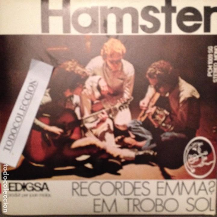 HAMSTER: RECORDES EMMA? / EM TROBO SOL. EDIGSA 1972 FOLK PROGRESIVO ARR.LLUIS LLACH/LAURA ALMERICH (Música - Discos de Vinilo - EPs - Grupos Españoles de los 70 y 80)