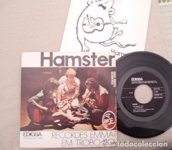 Discos de vinilo: HAMSTER: Recordes emma? / em trobo sol. Edigsa 1972 FOLK PROGRESIVO Arr.LLUIS LLACH/LAURA ALMERICH - Foto 2 - 63165624
