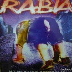 Discos de vinil: RABIA. NO ME PUEDO CONTROLAR. OIHUKA 0-224 LP 1992 SPAIN. Lote 63171620