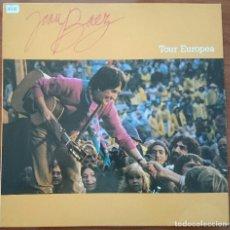 Discos de vinilo: JOAN BAEZ: TOUR EUROPEA, LP PROMO PORTRAIT PRT 32173, SPAIN, RE 1989. NM/VG+. Lote 63178548