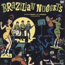 Discos de vinilo: LP BRAZILIAN NUGGETS BACK FROM THE JUNGLE VOL. 3 VINILO. Lote 63186504