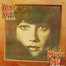 Discos de vinilo: KIKI DEE BAND - I'VE GOT THE MUSIC IN ME LP + INSRT SPAIN 1974 B-EX. Lote 63186732