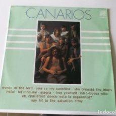 Discos de vinilo: LOS CANARIOS 1977 CAUDAL ESTEREO. Lote 63188280