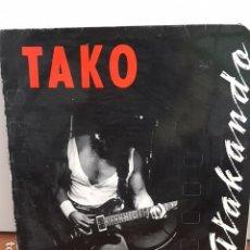Discos de vinilo: TAKO ATAKANDO. ROCK ZARAGOZA, EN DIRECTO SALA BRUTO. DISCO VINILO. Lote 63190548