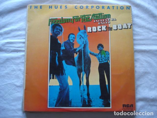 THE HUES CORPORATION FREEDOM FOR THE STALLION (Música - Discos - LP Vinilo - Funk, Soul y Black Music)