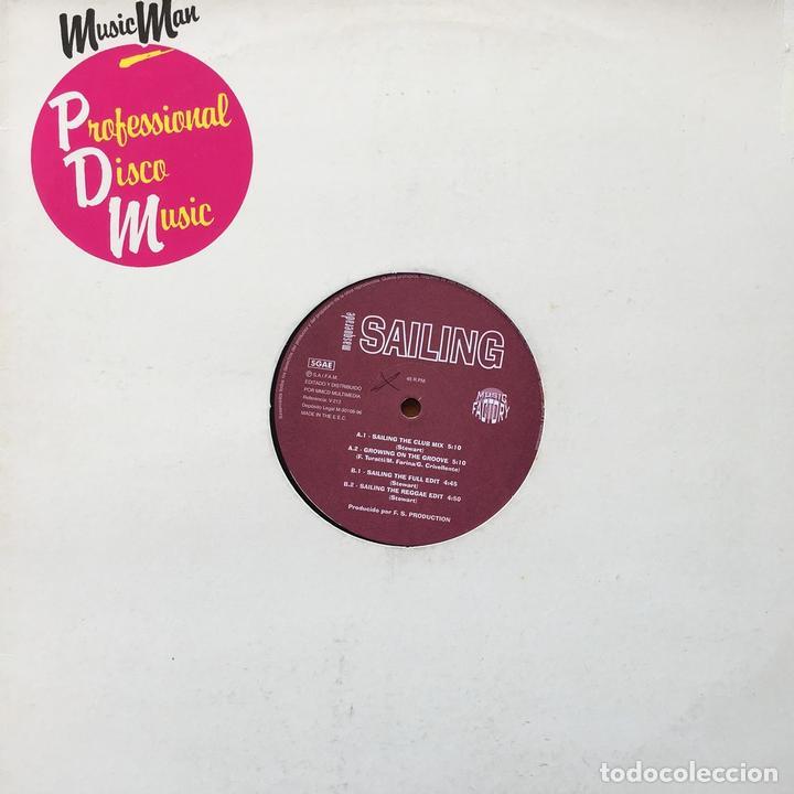 MASQUERADE - SAILING . MAXI SINGLE . 1996 MUSIC FACTORY (Música - Discos de Vinilo - Maxi Singles - Disco y Dance)