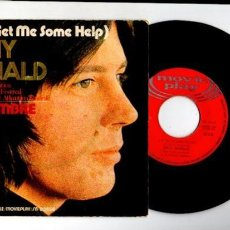 Discos de vinilo: TONY RONALD - HELP & TU NOMBRE - MOVIE PLAY SN-20556 / 1971. Lote 63237236