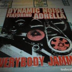 Discos de vinilo: DYNAMIC NOISE ADRELLA FEATURING. Lote 63254036