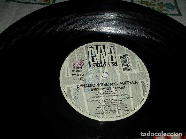 Discos de vinilo: DYNAMIC NOISE ADRELLA FEATURING - Foto 2 - 63254036