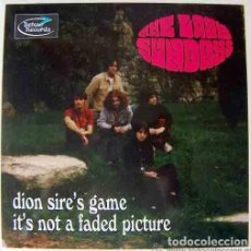 Discos de vinilo: THE LAZY SUNDAYS: DION SIRE´S GAME + IT´S NOT A FADED PICTURE. Lote 63256692