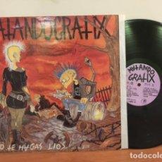Discos de vinilo: MATANDO GRATIX NO TE HAGAS LIOS. Lote 63262248