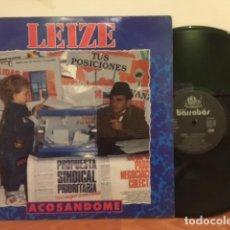 Discos de vinilo: LEIZE ACOSANDOME. Lote 63262960