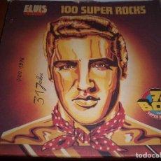 Discos de vinilo: CAJA DE 7 LPS DE ELVIS PRESLEY, 100 SUPER ROCKS. EDICION RCA DE 1977 (ALEMANA). . Lote 63267868