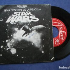Discos de vinilo: DON ELLIS AND SURVIVAL STARS WARS SINGLE SPAIN 1977 PDELUXE. Lote 63272256