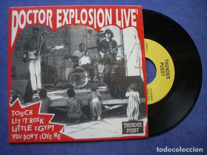 DOCTOR EXPLOSION LIVE'. TOUCH + 3 EP SPAIN 1992 PDELUXE (Música - Discos de Vinilo - EPs - Grupos Españoles de los 90 a la actualidad)
