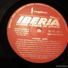 Discos de vinilo: ANTIGUO DISCO DE VINILO LP - DISCO IBERIA - NAVIDAD. Lote 63278644