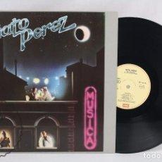 Discos de vinilo: DISCO LP VINILO - GATO PÉREZ. MÚSICA - EMI, 1983. Lote 63278812