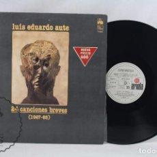 Discos de vinilo: DISCO LP DE VINILO - LUIS EDUARDO AUTE. 24 CANCIONES BREVES 1967-68 - ARIOLA, 1977. Lote 63279616