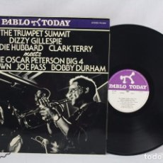 Discos de vinilo: DISCO EP VINILO DE JAZZ - THE TRUMPET SUBMIT DIZZY GILLESPIE, FREDDIE HUBBARD... - PABLO TODAY, 1980. Lote 63280000
