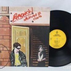 Discos de vinilo: DISCO LP VINILO - RAMONCÍN. ARAÑANDO LA CIUDAD - HISPA VOX / HISPAVOX, 1981. Lote 63280636