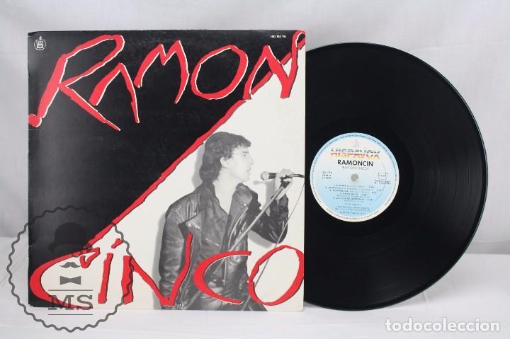 DISCO LP VINILO - RAMONCÍN. RAMONCINCO - HISPA VOX / HISPAVOX, 1984 (Música - Discos - LP Vinilo - Solistas Españoles de los 70 a la actualidad)