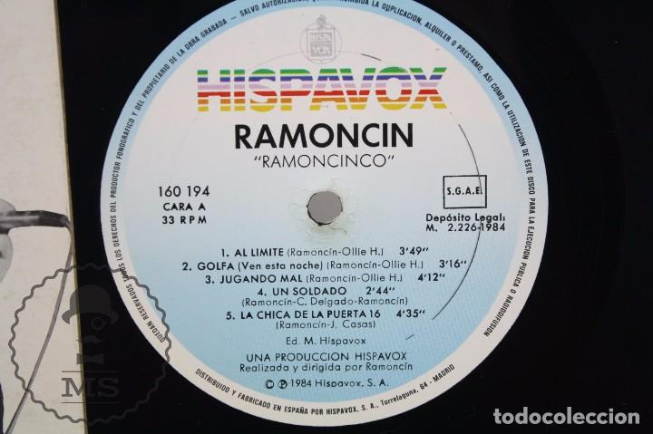 Discos de vinilo: Disco LP Vinilo - Ramoncín. Ramoncinco - Hispa Vox / Hispavox, 1984 - Foto 2 - 63280708