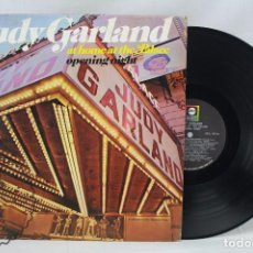 Discos de vinilo: DISCO LP DE VINILO - JUDY GARLAND AT HOME AT THE PALACE - ABC RECORDS, 1967. Lote 63287812