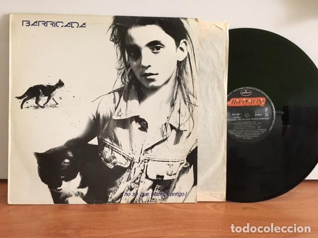 BARRICADA NO SE QUE HACER CONTIGO 1987 (Música - Discos - LP Vinilo - Punk - Hard Core)