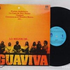 Discos de vinilo: DISCO LP DE VINILO - LO MEJOR DE... AGUAVIVA - DISCOS MERCURIO, 1980. Lote 63294620