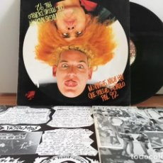 Discos de vinilo: PARASITOS 1991. NO HAGAS NADA HOY QUE PUEDAS DEJAR PARA EL 92. POTENCIAL HARDCORE. Lote 63295476