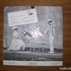 Discos de vinilo: WALT DISNEY DISCO FLEXO OBSEQUIO MARY POPPINS . Lote 63299612