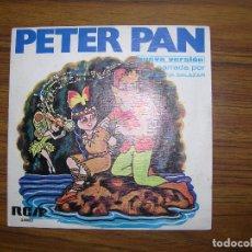 Discos de vinilo: PETER PAN. Lote 63300268