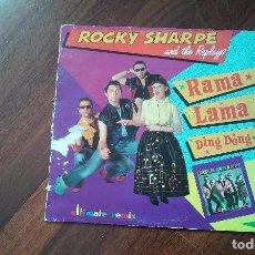 Discos de vinilo: ROCKY SHARPE AND THE REPLAYS-RAMA LAMA DING DONG.MAXI ESPAÑA. Lote 63301264
