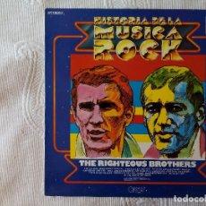 Discos de vinilo: RIGHTEOUS BROTHERS, THE - HISTORIA DE LA MUSICA ROCK 41 (POLYDOR) LP. Lote 63305964
