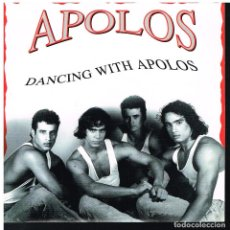 Discos de vinilo: APOLOS - DANCING WITH APOLOS - SINGLE 1991 - PROMO - BUEN ESTADO. Lote 63316744