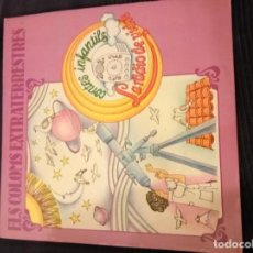 Discos de vinilo: ELS COLOMS EXTRATERRESTRES, CONTES INFANTILS, LA RADIO DE VIDRE. Lote 63333196