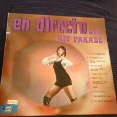 Discos de vinilo: EN DIRECTO DEL HIT PARADE. Lote 63334612