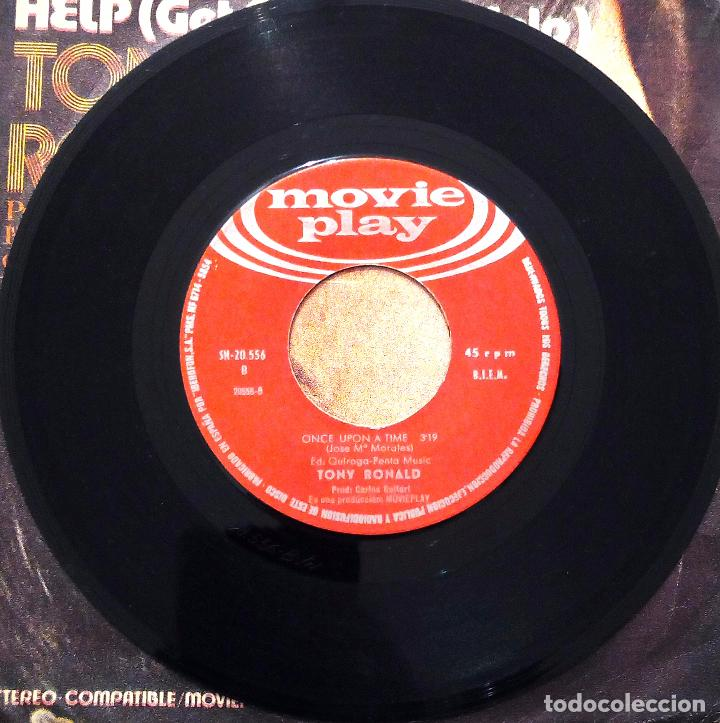 Discos de vinilo: SINGLE TONY RONALD - HELP - MOVIE PLAY 1971. - Foto 4 - 63335228