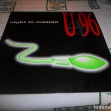 Discos de vinilo: U96 NIGHT IN MOTION. Lote 63338736