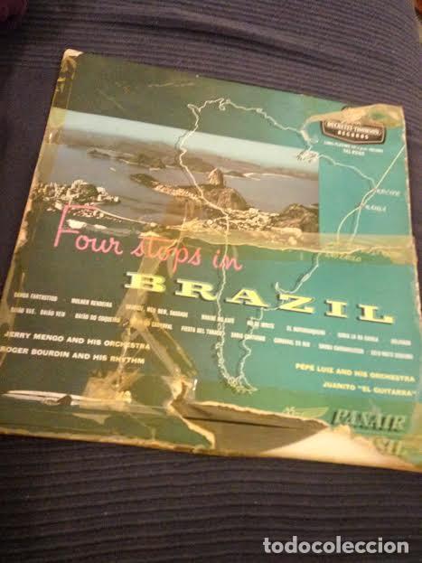 FOUR STOPS IN BRAZIL (Música - Discos de Vinilo - Maxi Singles - Otros estilos)