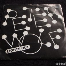 Discos de vinilo: PETER WOLF ( LIGHTS OUT - POOR GIRL'S HEART ) 1984-HOLANDA SINGLE45 EMI AMERICA. Lote 63367892