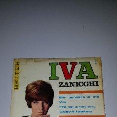 Discos de vinilo: IVA ZANICCHI. Lote 63386608
